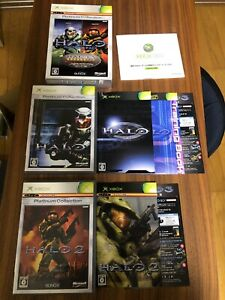 Halo History Pack  Complete set Import Japan Xbox Japanese Game