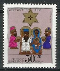 Germany Berlin 1983 MNH - Christmas Nigerian Yoruba Crib Mi-707 SG-B669