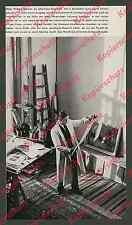 Maler Richard Gessner Atelier Schloß Kalkum Düsseldorf Gemälde Rheinland 1938!!