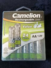 Camelion 1.2V 800mAh Rechargeable Aa Ni-Cd Solar Light Batteries - 24 Pack