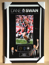 PROFESSIONALLY FRAMED AUTHENTIC DANE SWAN HAND-SIGNED  AFL APPROVED PRINT POSTER