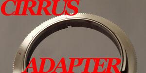 CIRRUSADAPTER 0.35MM Canon FD Lens to EOS 5D 7D 650D Rebel T4i T3i T2i XT XS