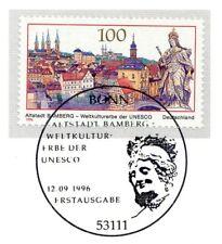 BRD 1996: Bamberg UNESCO-Weltkulturerbe! Nr 1881 mit Bonner Stempel 1A! 1802