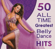 50 All Time Greatest Belly Dance Hits [Digipak] (CD, 2 Discs, Hollywood Music...