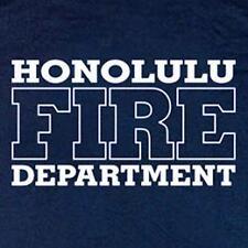 Honolulu Fire Department Hawaii Firefighter T-shirt  L
