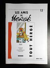Rare à ce prix ! Copie Revue des Amis de Hergé N° 13 Tintin ADH TBE