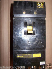 Square D If 3 pole 100 amp 480v If34100 Circuit Breaker chipped
