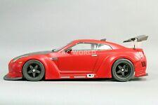 1/10 RC Rocket Bunny WIDE Body Nissan GT-R Skyline Fenders Body Kit -clear-