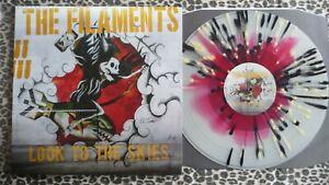 THE FILAMENTS - Look to the skies LP Splatter vinyl.New, Hardcore,Punk,Wonk Unit