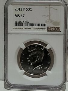 2012-P Kennedy Half Dollar 50c NGC MS-67