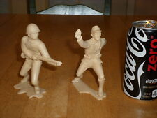 WW#2, JAPANESE Infantry Soldiers, Vintage Louis Marx Large Plastic,Total of # 2