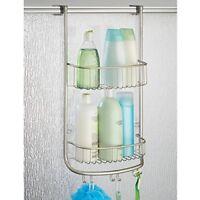 NEW InterDesign Forma Over Door Shower Caddy - Bathroom Storage Shelves