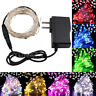 12V LED String Fairy Light Lamp Wire Indoor Outdoor Christmas Tree Party Decor