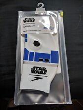 080629ff4b STAR WARS R2-D2 SPEEDO SWIMMING CAP - JUNIOR SLOGAN PRINT CAP