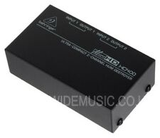 Behringer MicroHD HD400 Ultra Compact 2 Channel Hum Destroyer
