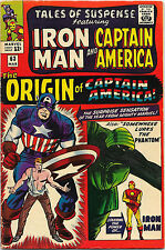 Tales of Suspense #63 Marvel Comics 1965 SA Origin of Captain America VF-
