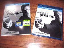 Jason Bourne Blu-ray/DVD Includes Digital Copy NEW Matt Damon, Tommy Lee Jones