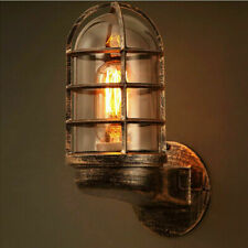 Vintage Industrial Wall Lamp  Indoor Outdoor waterproof Light Glass Lighting