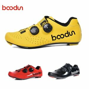 Boodun Pro Wire 2 Road Cycling Shoes Man Self-Locking Carbon Bicycle Sneakers
