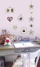 New ROMANTIC PHOTO FRAMES WALL DECALS Stickers for Holding Pictures Kids Decor