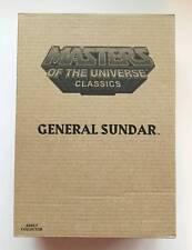 MOTUC Masters Of The Universe Classics General Sundar Matty Collector MISB