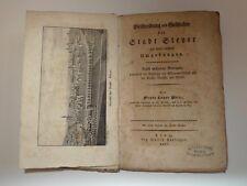 Pritz, Franz Xaver. Beschreibung und Geschichte der Stadt Steyer 1837