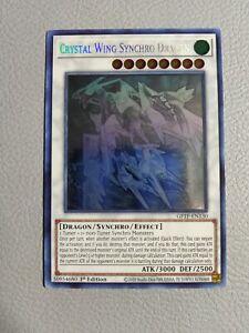 Crystal Wing Synchro Dragon Ghost Rare | NM | 1st Edition Yugioh GFTP-EN130