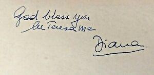 Princess Diana, Mother Teresa, Queen Elizabeth II Signatures Royal signatures