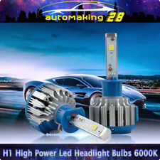 T1 Turbo Car Headlight H1 LED Bulbs High Low Beam 70W 7000LM 6000K Auto Canbus
