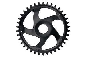 KMC Bosch Gen 4 Super Narrow Chainline 47.5 MM Cycle Bike Chainring Black - 38T