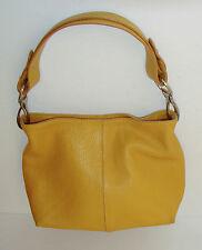 Cuoieria Fiorentina yellow hand bag