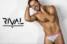 Aussiebum Underwear Rival Bikini White Small (S) Mens Briefs Gym Poss Gay Int