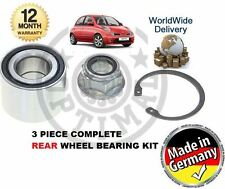 FOR NISSAN MICRA K12  2002-2010 NEW REAR WHEEL BEARING KIT *OE QUALITY*