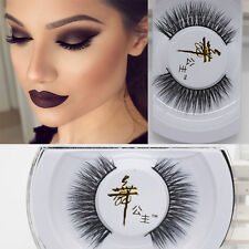 100% Black Real Mink Soft Long Natural Thick Makeup Eye Lashes False Eyelashes