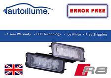 AUDI R8 CANBUS compatibile number Plate Light unità 18 SMD LED