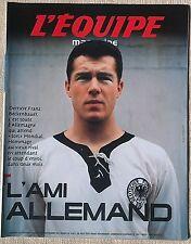 Equipe Magazine Beckenbauer Nyanga Szarzewski Joakim Noah 2006