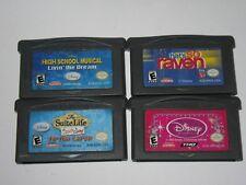 Nintendo Game Boy Advance GBA Lot of 4 Games ----