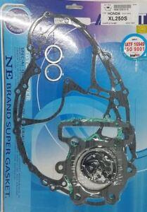 Honda 1978-81 XL250 XL250S Complete Engine Gasket Kit Set