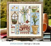 SPRING SAMPLER NEW BEGINNINGS   CROSS STITCH  PATTERN ONLY