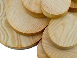 """One English Ash wood turning or carving bowl blank. 50mm (2"""") thick"""