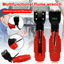 Multifunction Faucet And Sink Installer Wrench Plumbing Tool Water Pipe Spanner