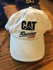 NASCAR Caterpillar CAT Racing Strap Back Trucker Cap Hat !