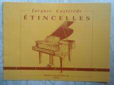 """PARTITION """" ÉTINCELLES """" JACQUES CASTEREDE POUR PIANO"""