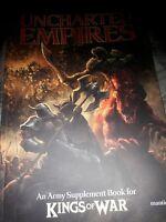 Mantic Games BNIB Kings of War Uncharted Empires Book MGKW07