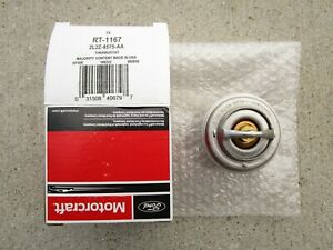 FORD LINCOLN 2L2Z-8575-AA MOTORCRAFT RT-1167 ENGINE COOLANT THERMOSTAT OEM NEW