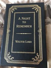 A Night to Remember by Walter Lord 3000 copies signed by Walter Lord-Titanic
