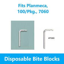 Dental Panoramic X Ray Machine Bite Blocks Fits Planmeca 100pkg 7060
