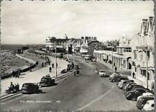 Porthcawl, Bridgend - Front, old cars - Constance RP postcard c.1950s