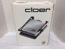 Cloer Indoor Contact Grill 6300 Kitchen Appliance Sandwich Kebab Maker Cooker