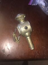 Antique / Vintage candle lamp bike bicycle Brass